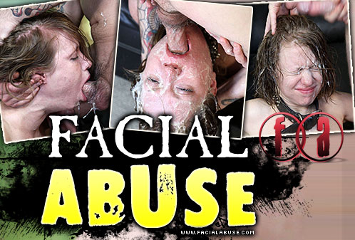 Puke Face Destroyed On Facial Abuse